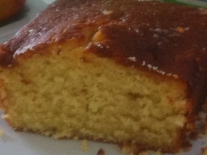 lemon drizzle cake for Urban Writers Retreat