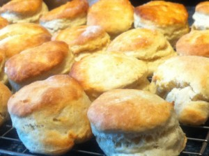 Scones for Urban Writers Retreat
