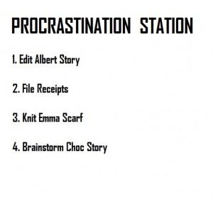 Urban Writers Procrastination Station Technique