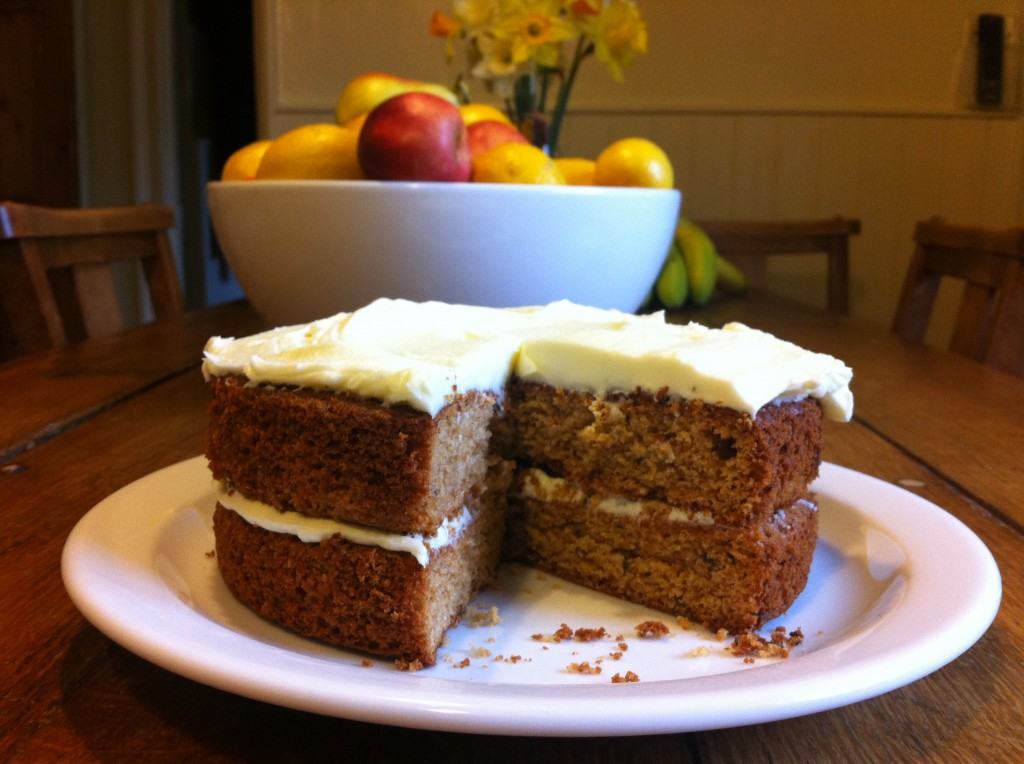 writing retreat cake