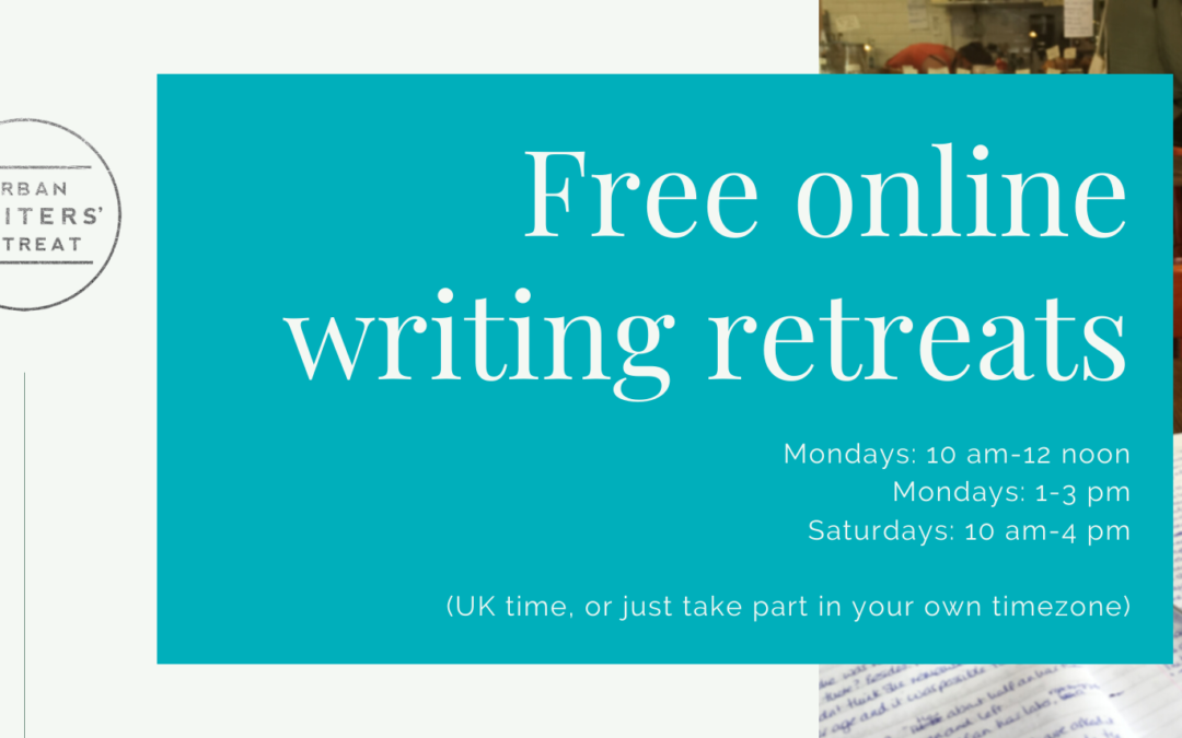 Free online writing retreats to see you through lockdown
